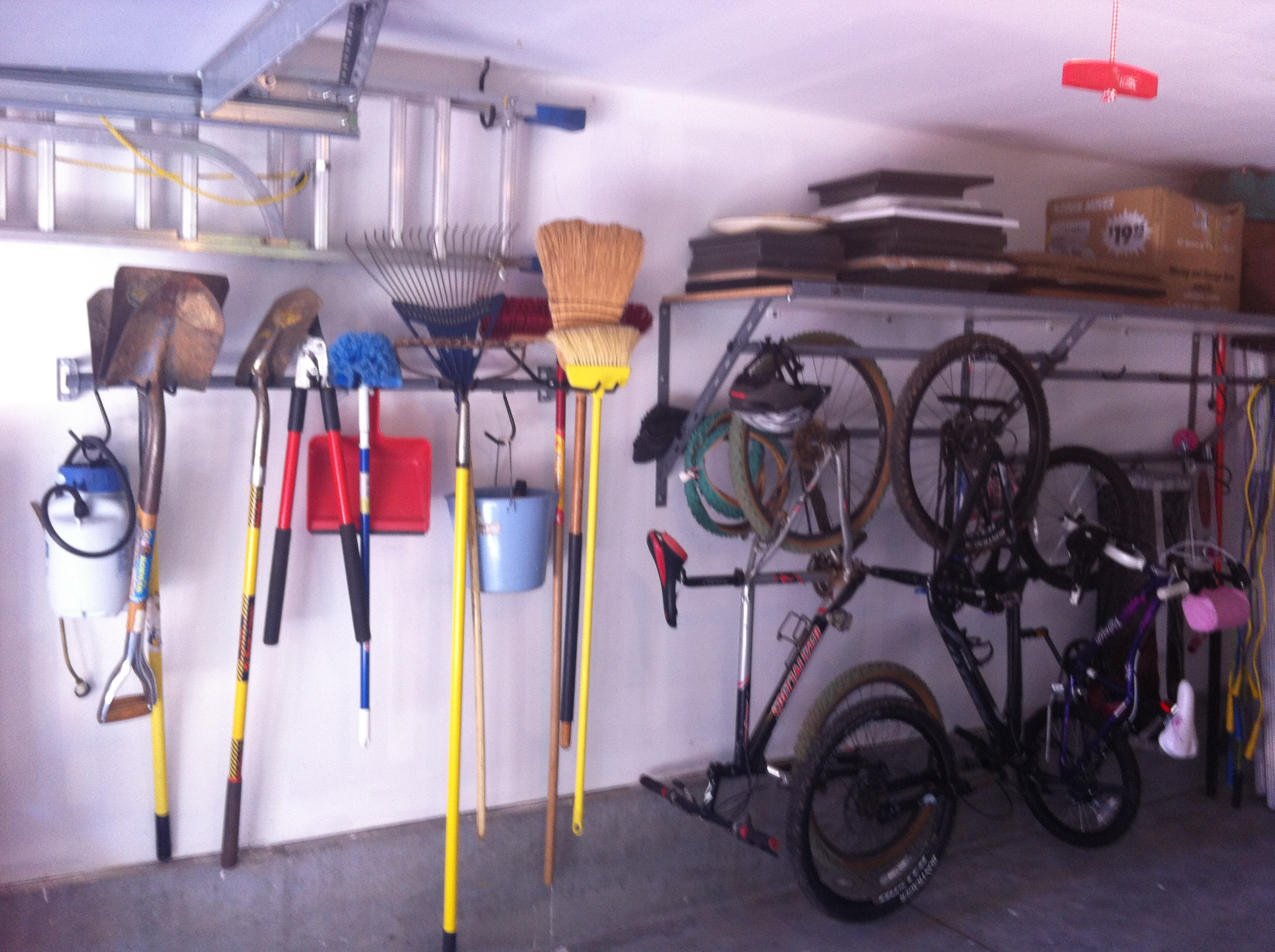 Wonderful Garage Tool Storage Ideas Shelving Santa Clara Yard Tools And Design Inspiration